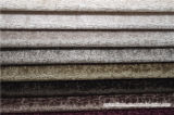 Tissu 100% de sofa de jacquard de velours de polyester