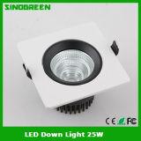 Diodo emissor de luz para baixo AC100V-AC240V claro da alta qualidade