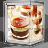 Acrylic sottile Sheet con Crystal Glass LED Display Board