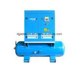 Schrauben-beweglicher elektrischer stationärer Empfänger eingehangener Luftverdichter (K5-10D/250)