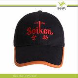 L'acrylique fait sur commande de noir de Mens de promotion brodent le chapeau
