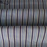 衣服のワイシャツまたは服Rls50-26poのための綿の縞のポプリンによって編まれるヤーンによって染められるファブリック