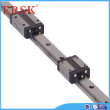 Linear quadrato Shaft Rail Guide con Flange Block