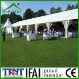 Tenda bianca Cina della tenda foranea di cerimonia nuziale del PVC della mobilia del ristorante