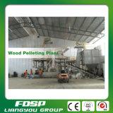 Chaîne de fabrication de boulette de perte en bois de grande capacité avec le certificat d'OIN