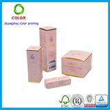 Envase poner crema cosmético de papel de la crema del tarro de la crema del rectángulo