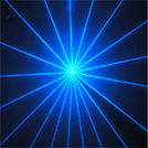 luce laser di 500MW Single Blue Animation