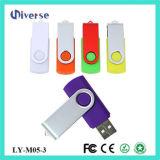 100% reale Kapazitäts-kundenspezifisches Firmenzeichen-Schwenker USB-Blitz-Laufwerk M05