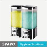 Opgezet en de Navulbare Muur van de Automaat van het Gel van de Douche van de Automaat van de Zeep van de shampoo (v-8102)