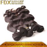 単一の若い女の子供給のブラジルボディ波の毛の束