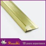 Ajuste de aluminio del borde de la baldosa cerámica del perfil de la protuberancia de la dimensión de una variable cuadrada