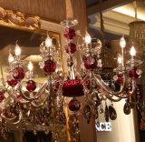 Iluminación pendiente de la decoración K9 de Phine del dispositivo de la lámpara cristalina moderna de la lámpara
