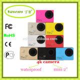 Buen precio para la cámara de la acción de la resolución 4k