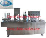 Máquina de enchimento da selagem do suco linear automático