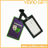 方法柔らかいPVC荷物の札(YB-LY-LT-01)
