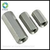 스테인리스 육 연결 견과, 육 긴 견과 (DIN6334)