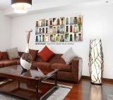 Peinture encadrée moderne faite sur commande de décor à la maison