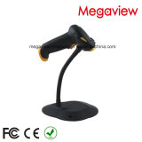 USB Cable Wired Auto Scan Barcode Scanner com suporte / suporte (MG-BS2243T)