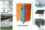 1kw ao inversor da potência 10kw solar com controlador e a bateria solares para o sistema solar