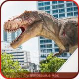 Replica viva esterna del dinosauro di Animatronic della decorazione