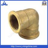 Buena calidad de cobre amarillo del color hembra Acoplamiento Tee (YD-6027)