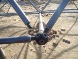 La bille en acier a boulonné la bille galvanisée par noeud du bâti de l'espace