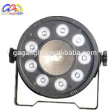 Luz clara do estágio do zoom da PARIDADE do diodo emissor de luz da PARIDADE 64 lisos 9PCS 10W RGBW do diodo emissor de luz do fabricante de Guangzhou para o equipamento do DJ