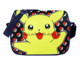 Saco de escola de Pokemon da qualidade do projeto de produto novo, saco de ombro