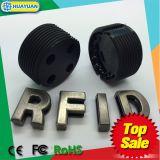 Tag esperto do escaninho Waste da freqüência ultraelevada do parafuso RFID para a solução da gestão de resíduos