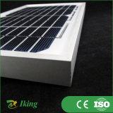 Panneau solaire mono du fabricant 5W18V de panneau solaire avec l'armature d'alliage