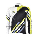 Long su ordinazione Sleeve Cycling Shirt con Sublimation Print