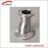 Redutor excêntrico apertado sanitário do encaixe de tubulação do aço inoxidável