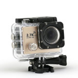 "2 "" HD Touch Screen 70m Waterproof Mini Action Sports DV"