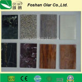 UV o Fluorocarbon Coating Fiber Cement Decorative Wall Board