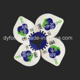 O Yogurt descartável coloca as tampas de alumínio da folha da selagem