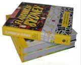 Impresión barata profesional del libro de la tarjeta de la buena calidad