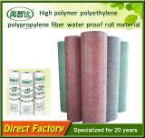 Membranas de impermeabilización del polipropileno del polietileno del alto polímero para la azotea de madera de la casa