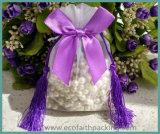 Nappe che Wedding il sacchetto del regalo della caramella del Organza con il Bowknot di seta del nastro