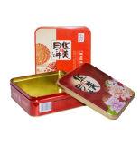 Het geschikte Nuttige Vierkante Blik van het Tin van het Metaal voor de Verpakking van Specerijen