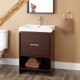 Cabinet de salle de bains moderne en bois Fed-1255 plein