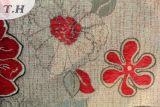 中国の製造所による綿および麻布の織物のジャカードソファーファブリック織り方