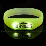 LED Light Flashing Blinking Bracelets mit Logo Printed (4019)