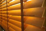 Abat-jour vénitiens en bois solide (rideaux en guichet)