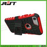 iPhone 7 аргументы за сотового телефона Kickstand нового PC TPU передвижное