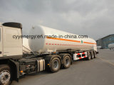 Chemischer LNG-LachsLinLco2 Lar-Kraftstofftank-Auto-halb Schlussteil