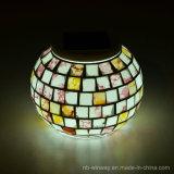 Ändernde Mosaik-dekorative Solartisch-Lampen färben