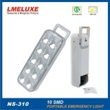 alumbrado de seguridad recargable de 10PCS LED