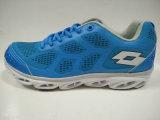 男性のための軽量の青い通気性の運動靴