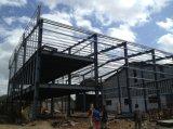 Edificio de oficinas Pre-Dirigido construcción de la estructura de acero con el Godown