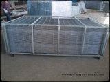 2X2 galvanizou o painel de engranzamento soldado aço do fio para a cerca